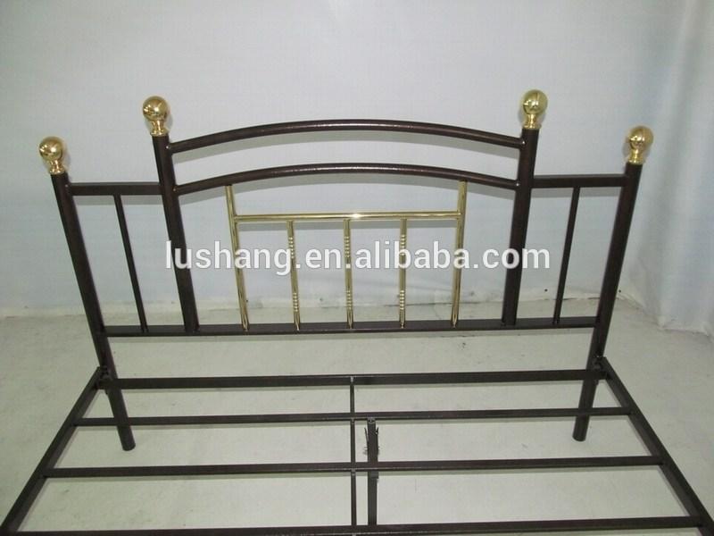 Antique Gold Bed Frame