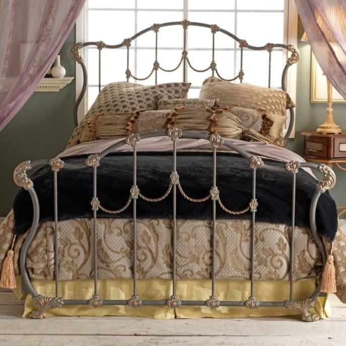 Antique Iron Bed Frame Ideas