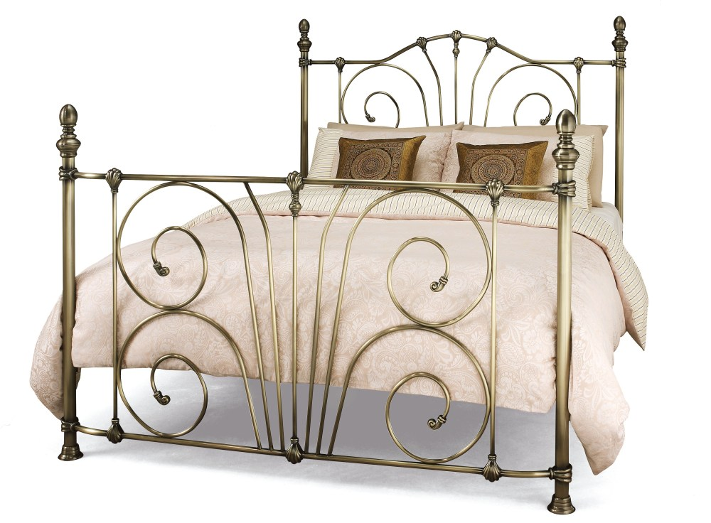 Antique Metal Bed Frame King