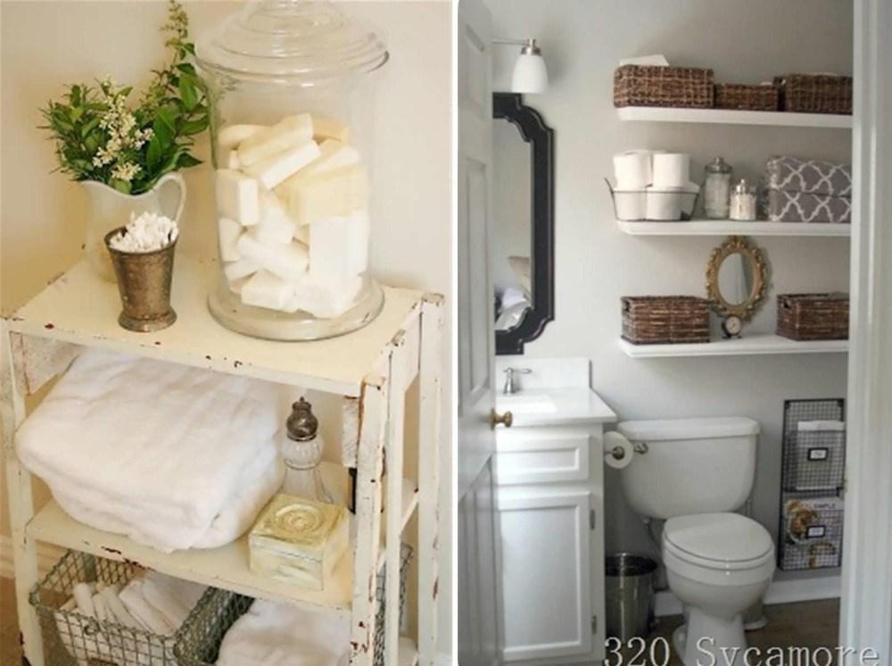 Apartment Bathroom Storage Ideas
