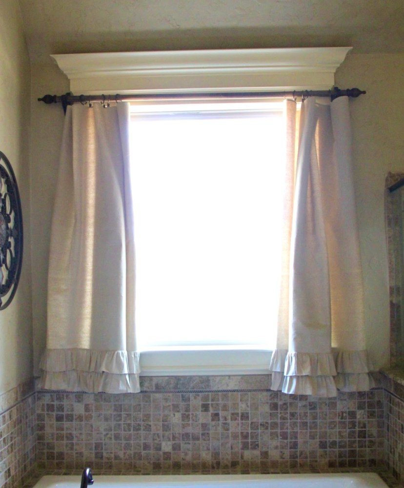 Arched Bathroom Window Treatment Ideas