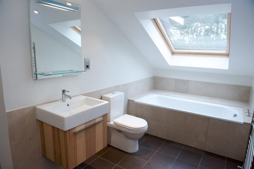 Attic Bathroom Ideas