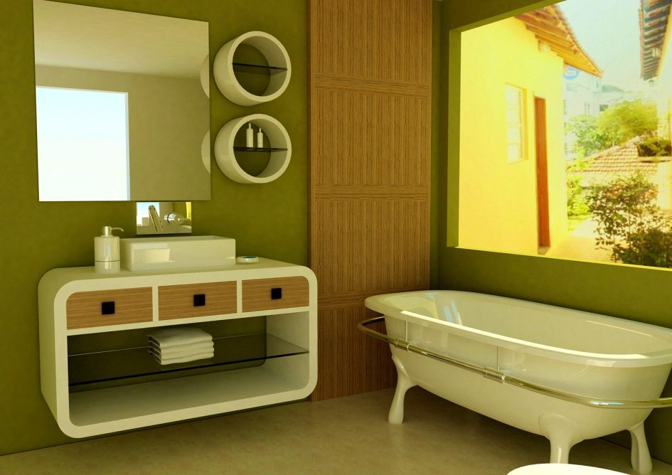 Avocado Green Bathroom Ideas
