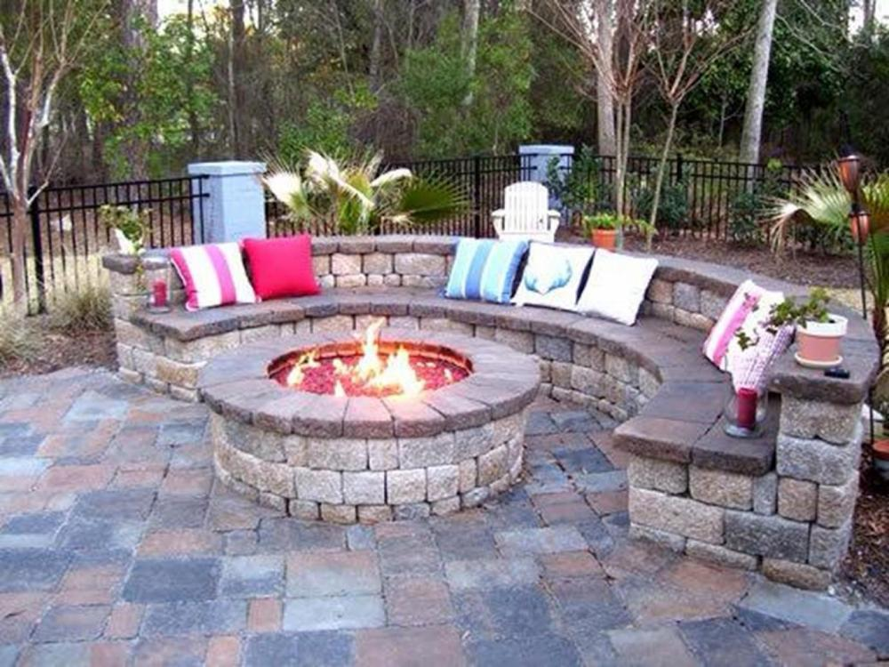 Backyard Fire Pit Designs Ideas