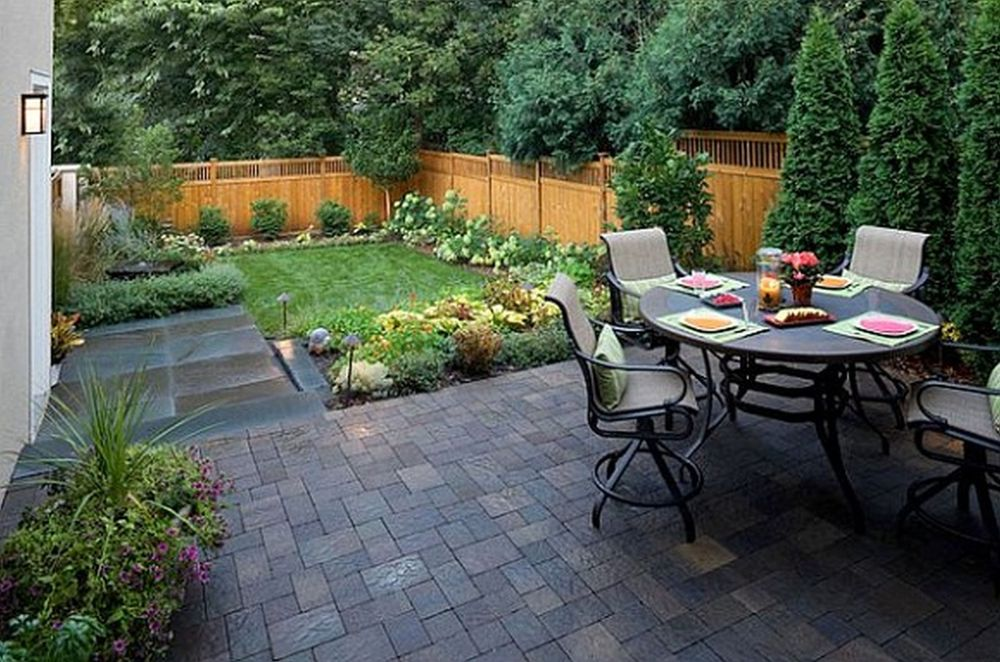 Backyard Landscape Ideas For Small Yards