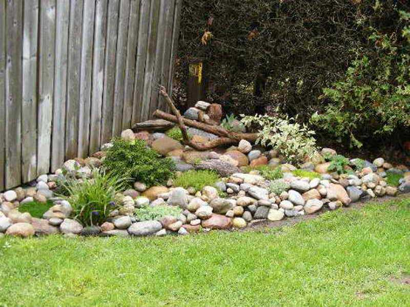 Backyard Landscape Ideas With Rocks