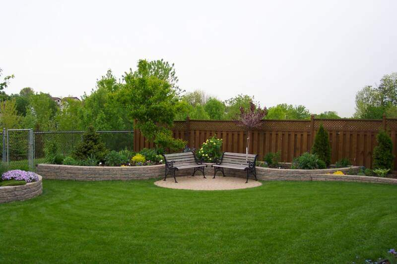 Backyard Landscape On A Budget