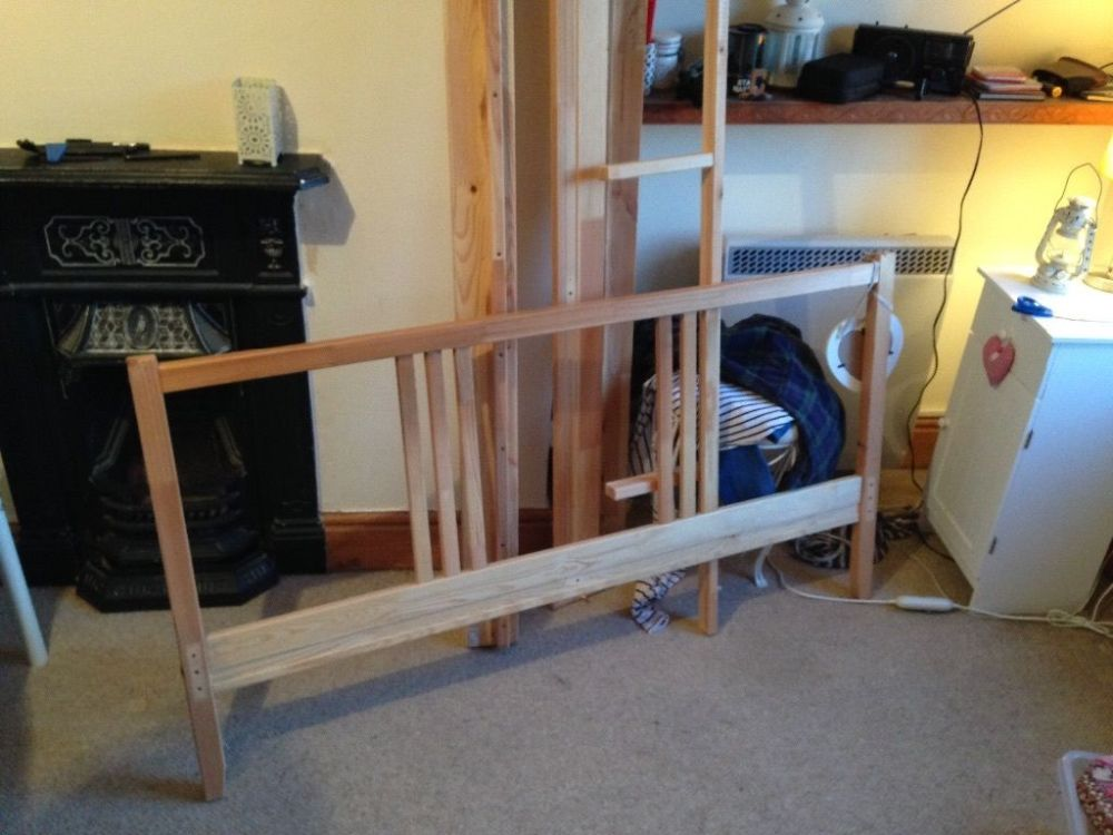 Basic Wooden Bed Frame