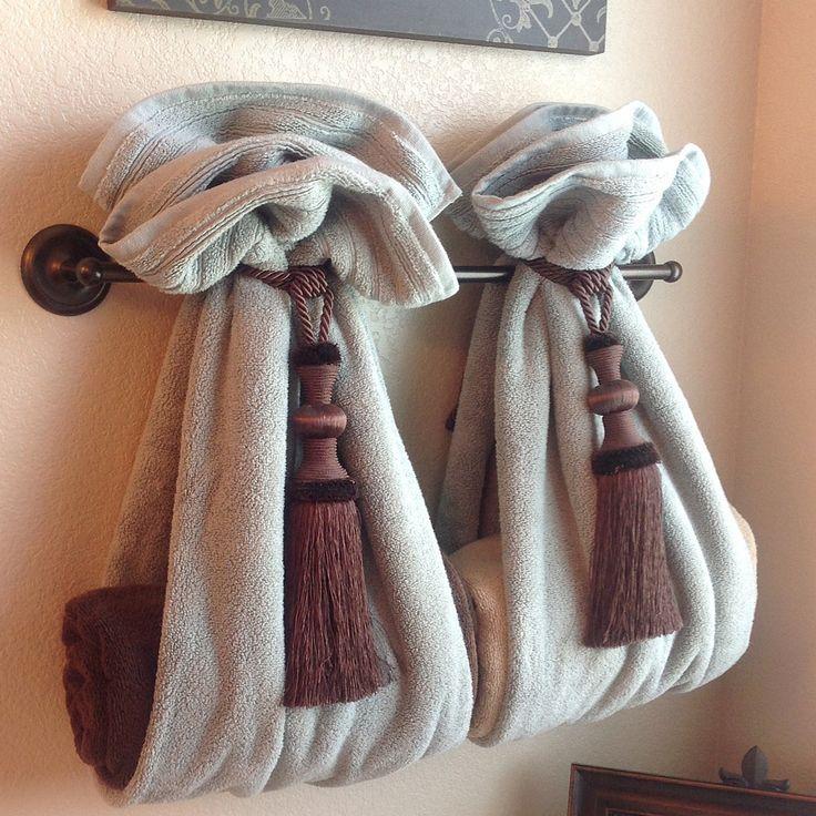 Bath Towel Hangers Ideas