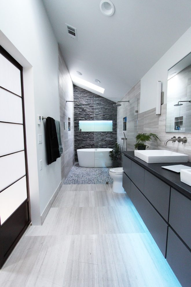 Bathroom Accent Walls Ideas
