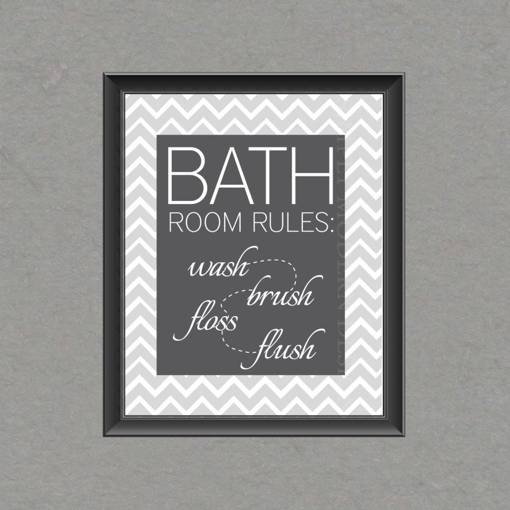 Bathroom Art Ideas Etsy