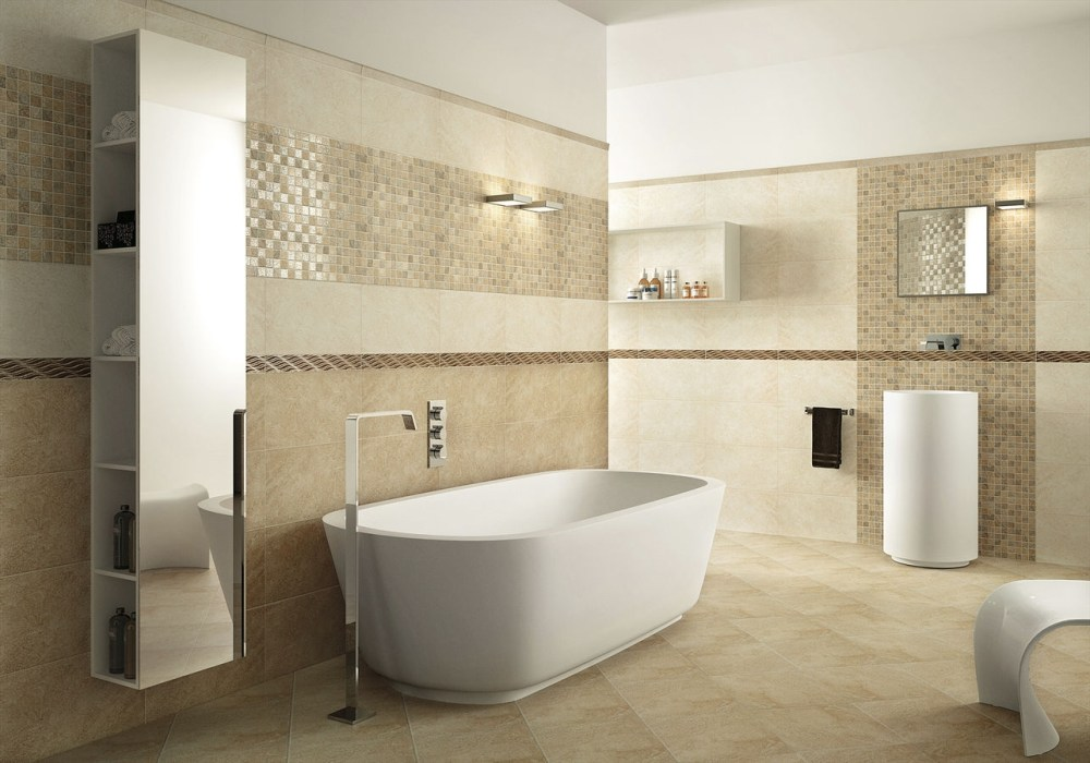 Bathroom Ceramic Wall Tile Ideas
