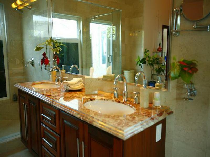 Bathroom Countertop Ideas With White Cabinets