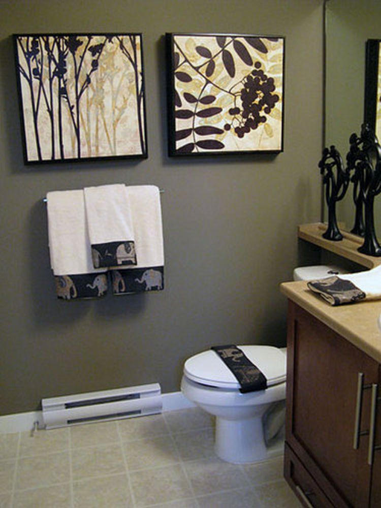 Bathroom Decorating Ideas Gray
