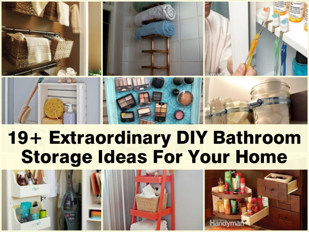 Bathroom Diy Ideas Pinterest
