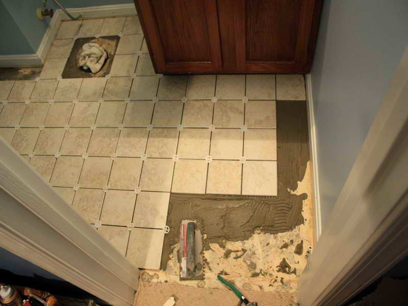 Bathroom Floor Ideas Diy