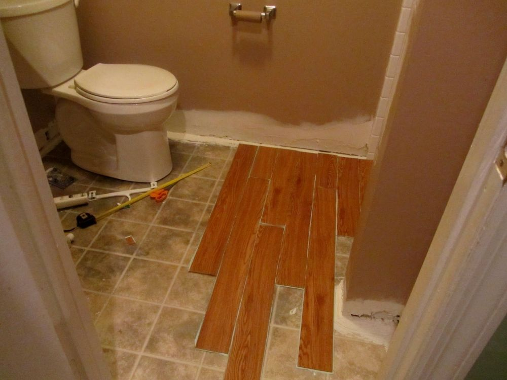 Bathroom Floor Ideas Not Tile