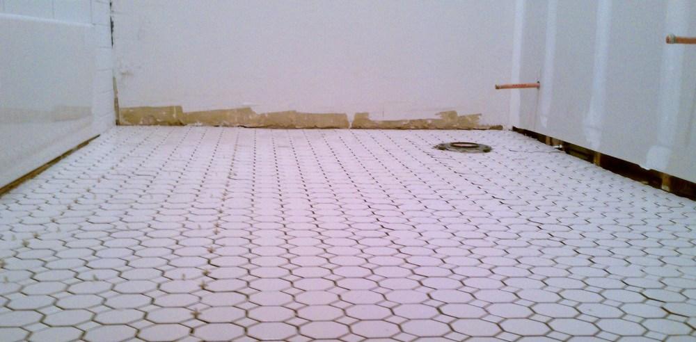 Bathroom Floor Tile Ideas Retro