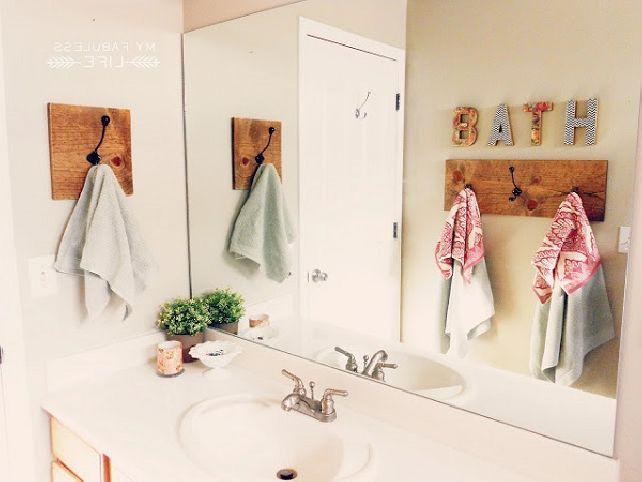 Bathroom Hand Towel Decorating Ideas