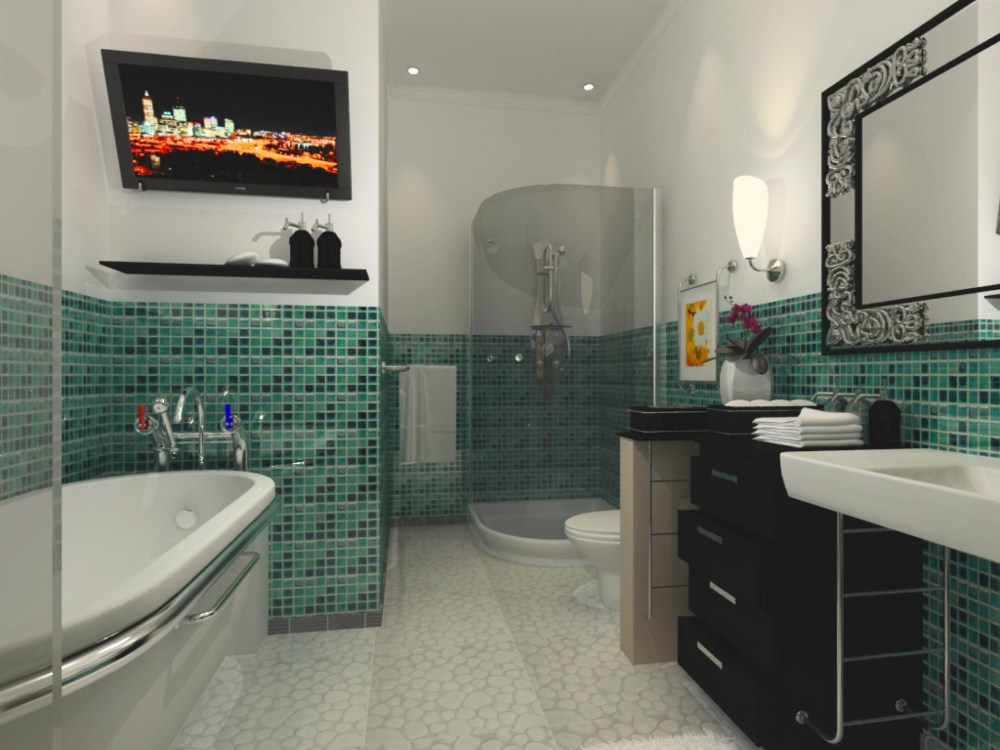 Bathroom Ideas Art Deco