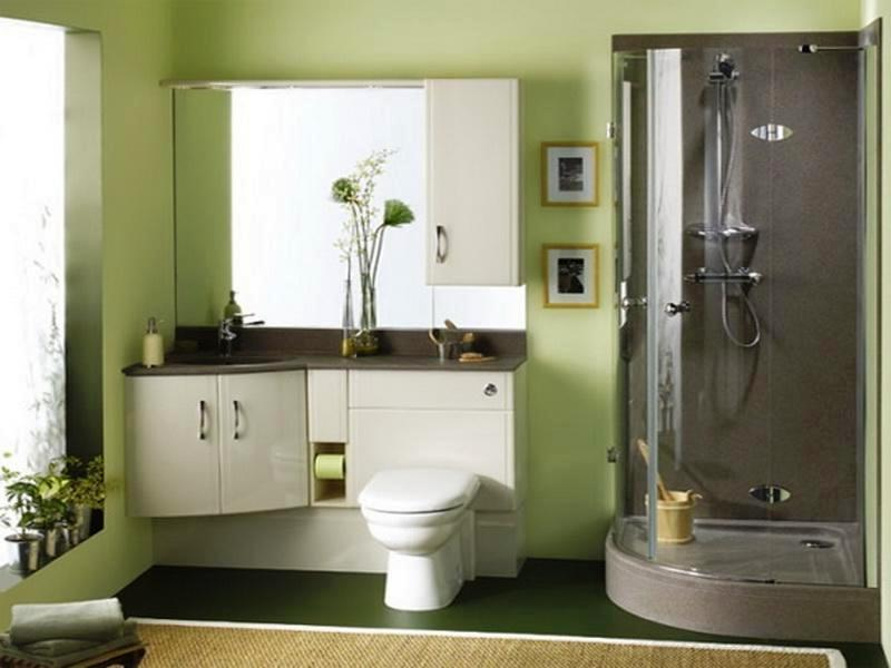 Bathroom Ideas Color Green