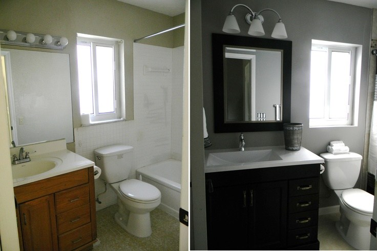 Bathroom Remodel On A Budget Pinterest