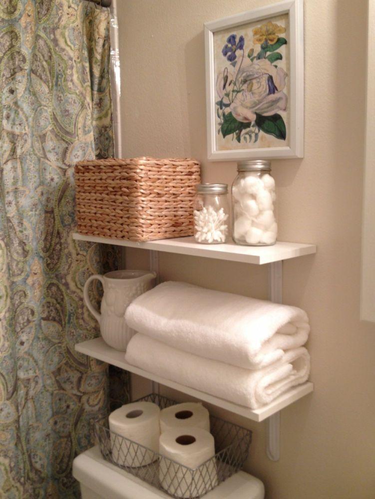 Bathroom Shelves Decorating Ideas