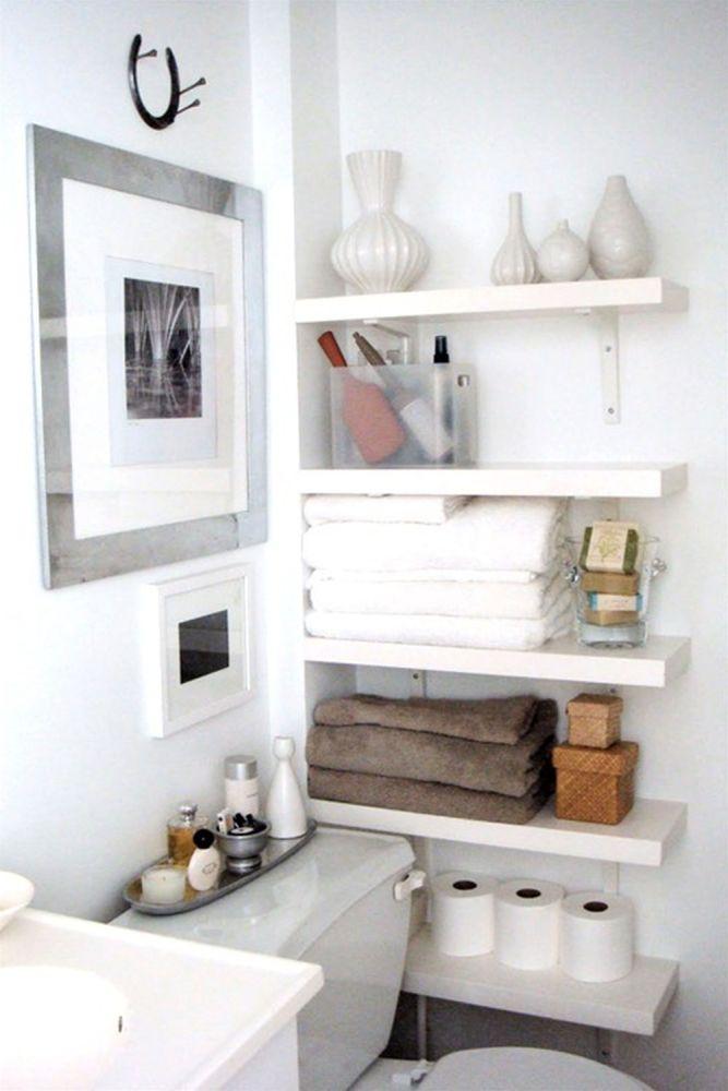 Bathroom Shelves Ideas Pinterest