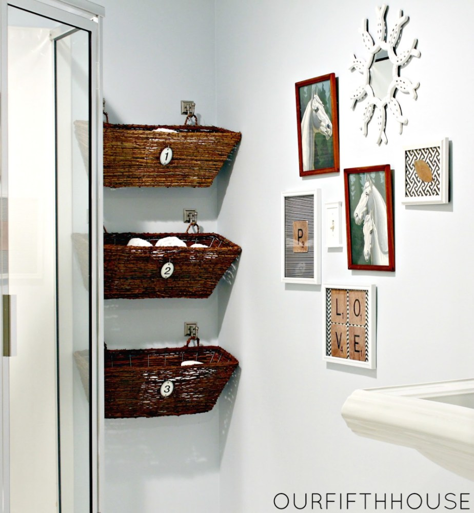 Bathroom Shelving Storage Ideas
