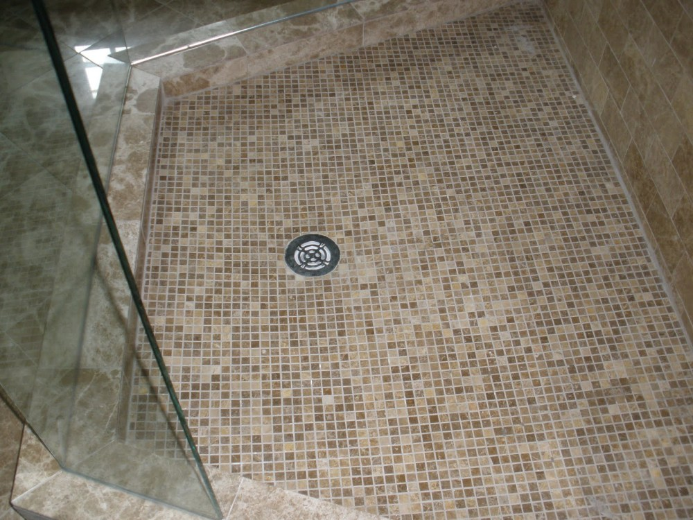 Bathroom Shower Floor Tile Ideas