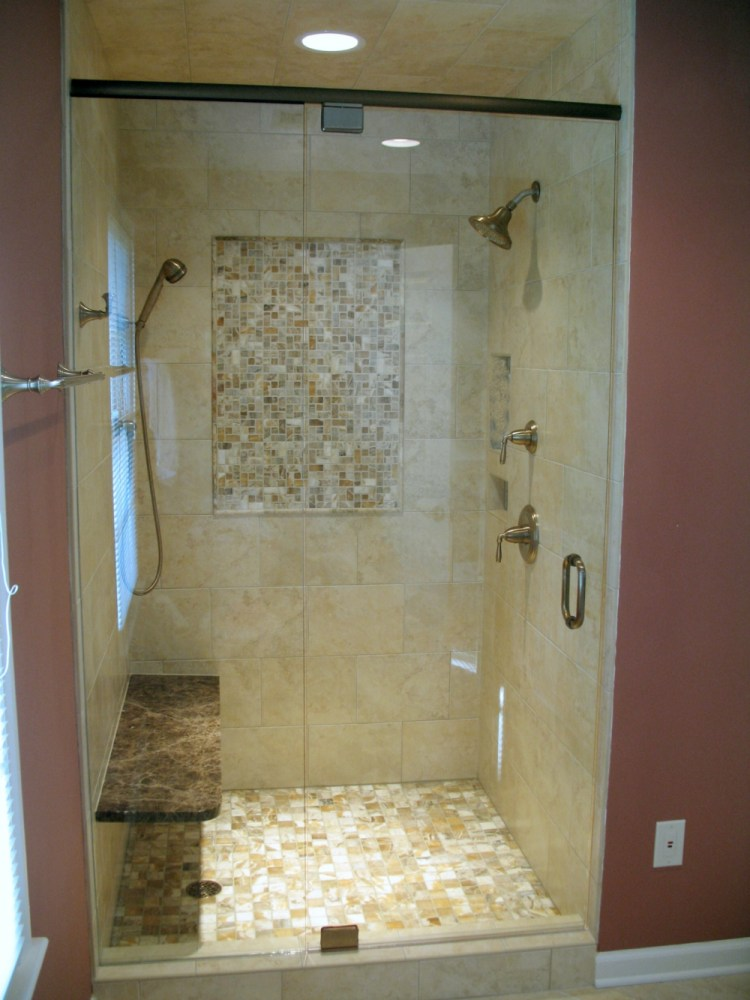 Bathroom Shower Ideas With Tile