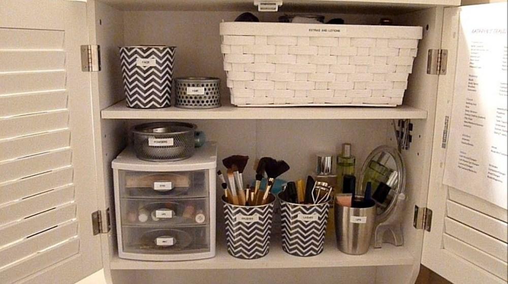 Bathroom Storage Ideas For Makeup