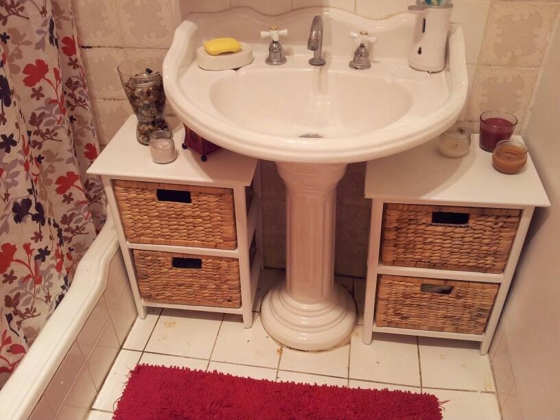 Bathroom Storage Ideas On Pinterest