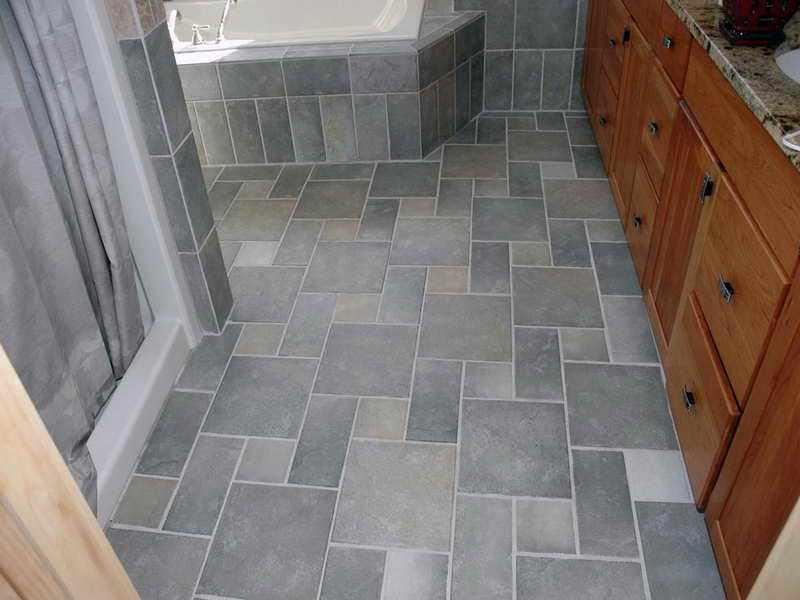 Bathroom Tile Floor Ideas