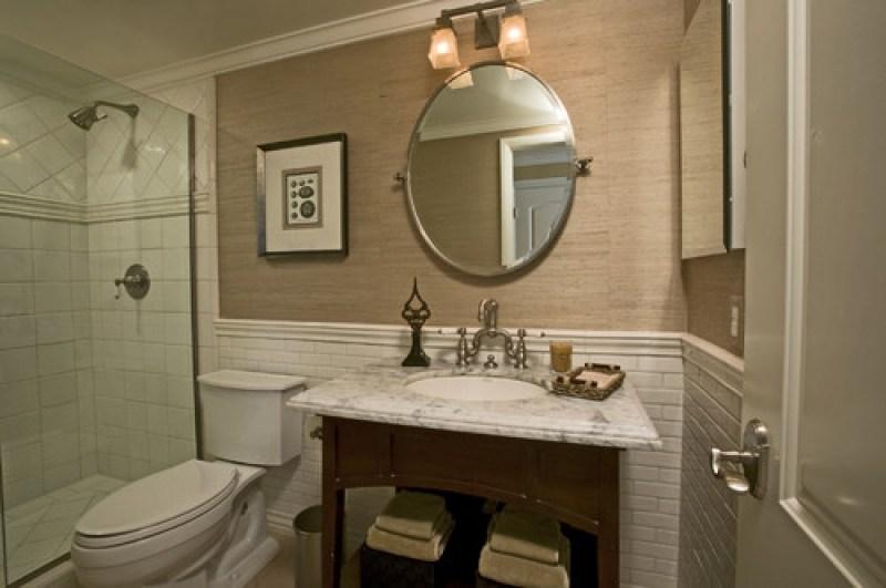 Bathroom Tile Wainscoting Ideas