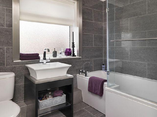 Bathroom Tiling Ideas Grey