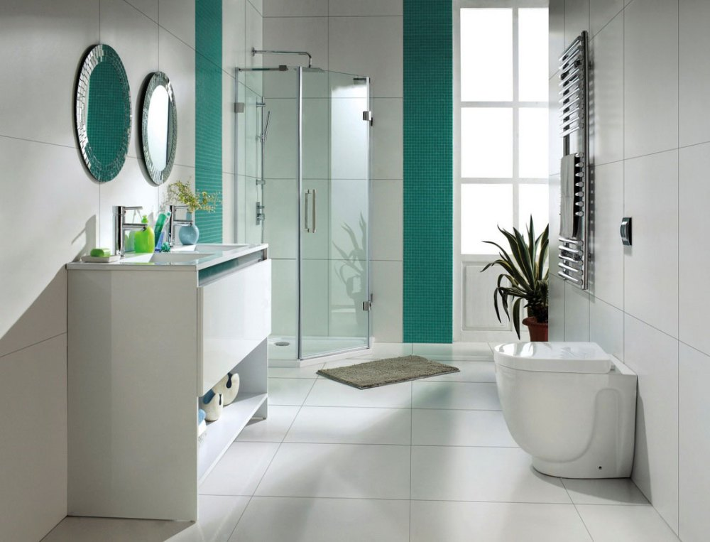 Bathroom Tiling Ideas White
