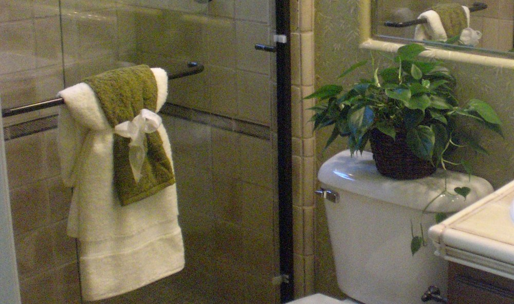 Bathroom Towel Decorating Ideas