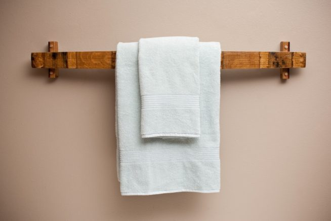 Bathroom Towel Hanging Ideas Pinterest