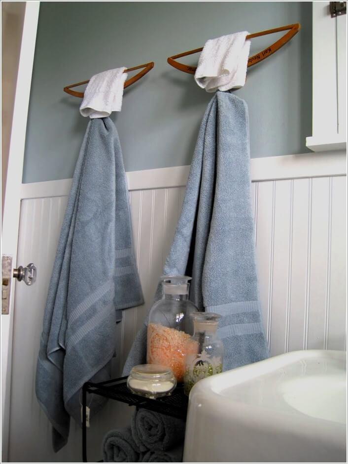 Bathroom Towel Holder Ideas