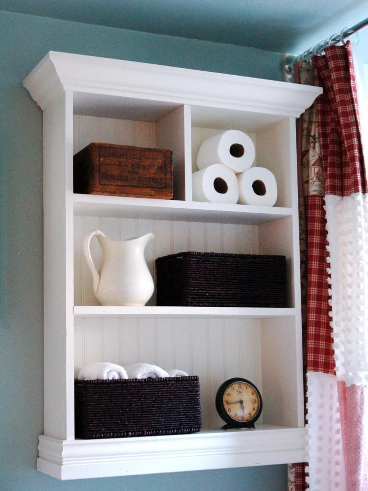 Bathroom Towel Shelf Ideas