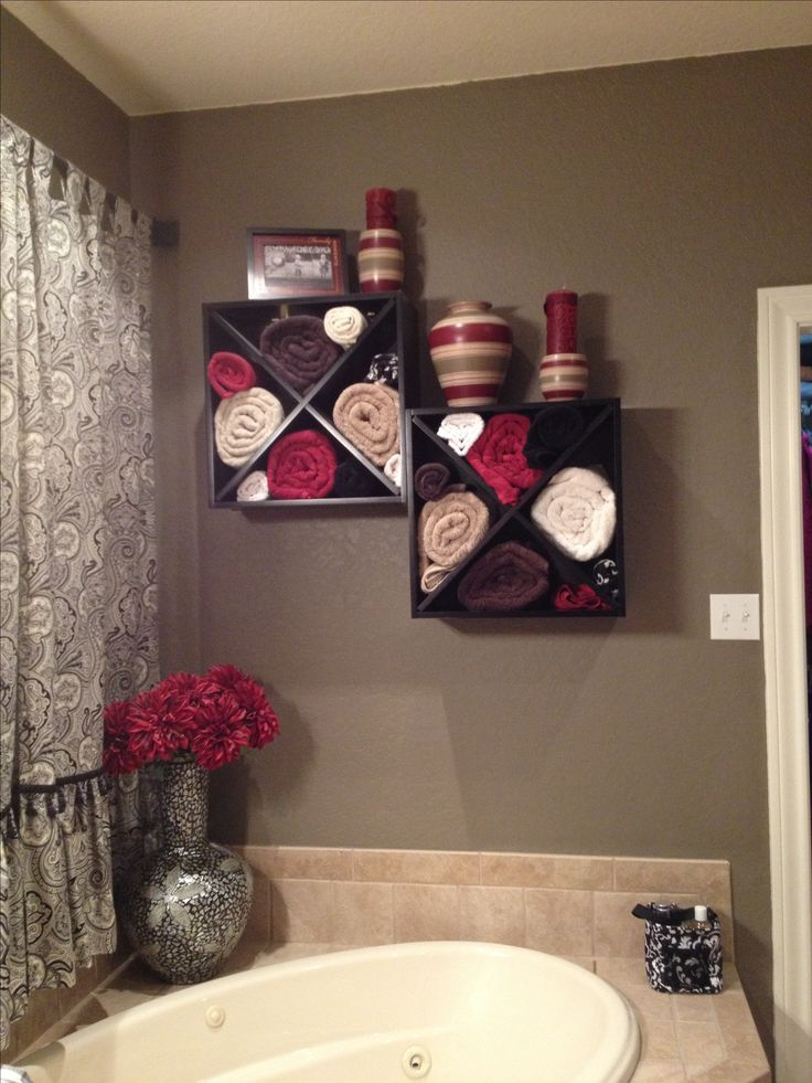 Bathroom Towels Storage Ideas