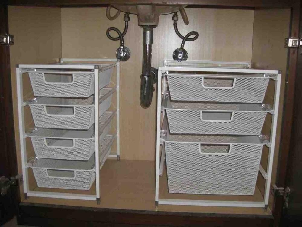 Bathroom Under Cabinet Storage Ideas