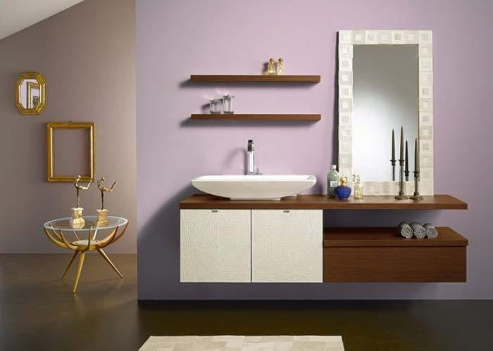 Bathroom Vanity Shelves Ideas