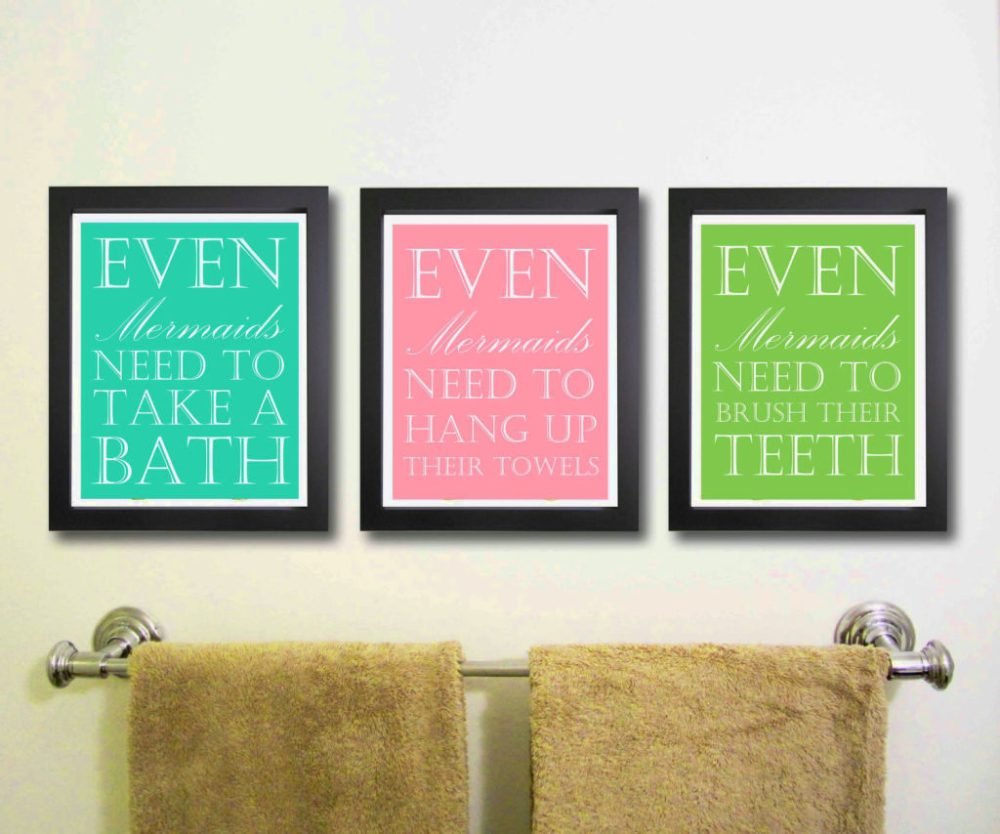 Bathroom Wall Art Decor Ideas