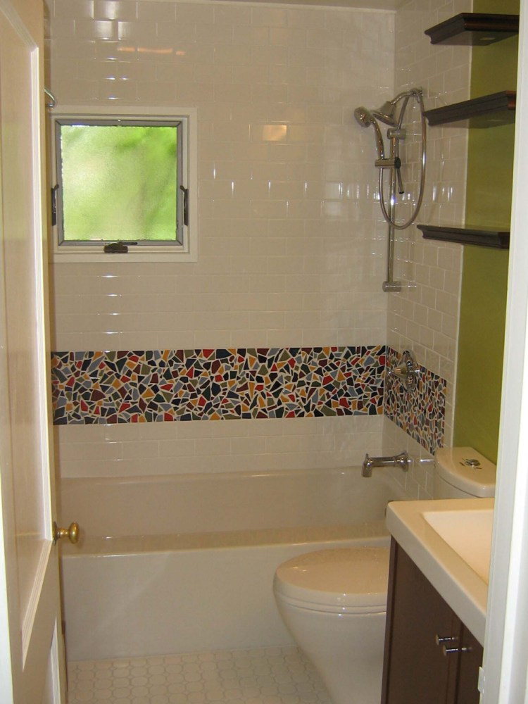 Bathroom Wall Tile Border Ideas