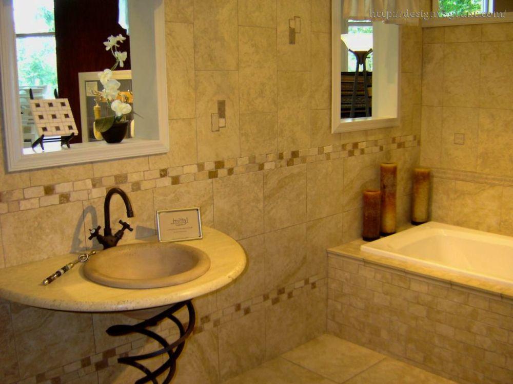 Bathroom Walls Decorating Ideas