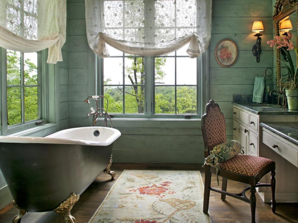 Bathroom Window Curtain Design Ideas