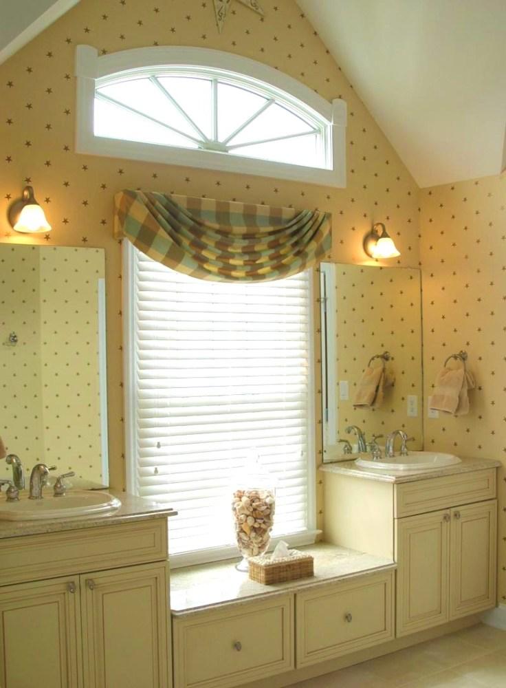 Bathroom Window Curtain Ideas Pinterest