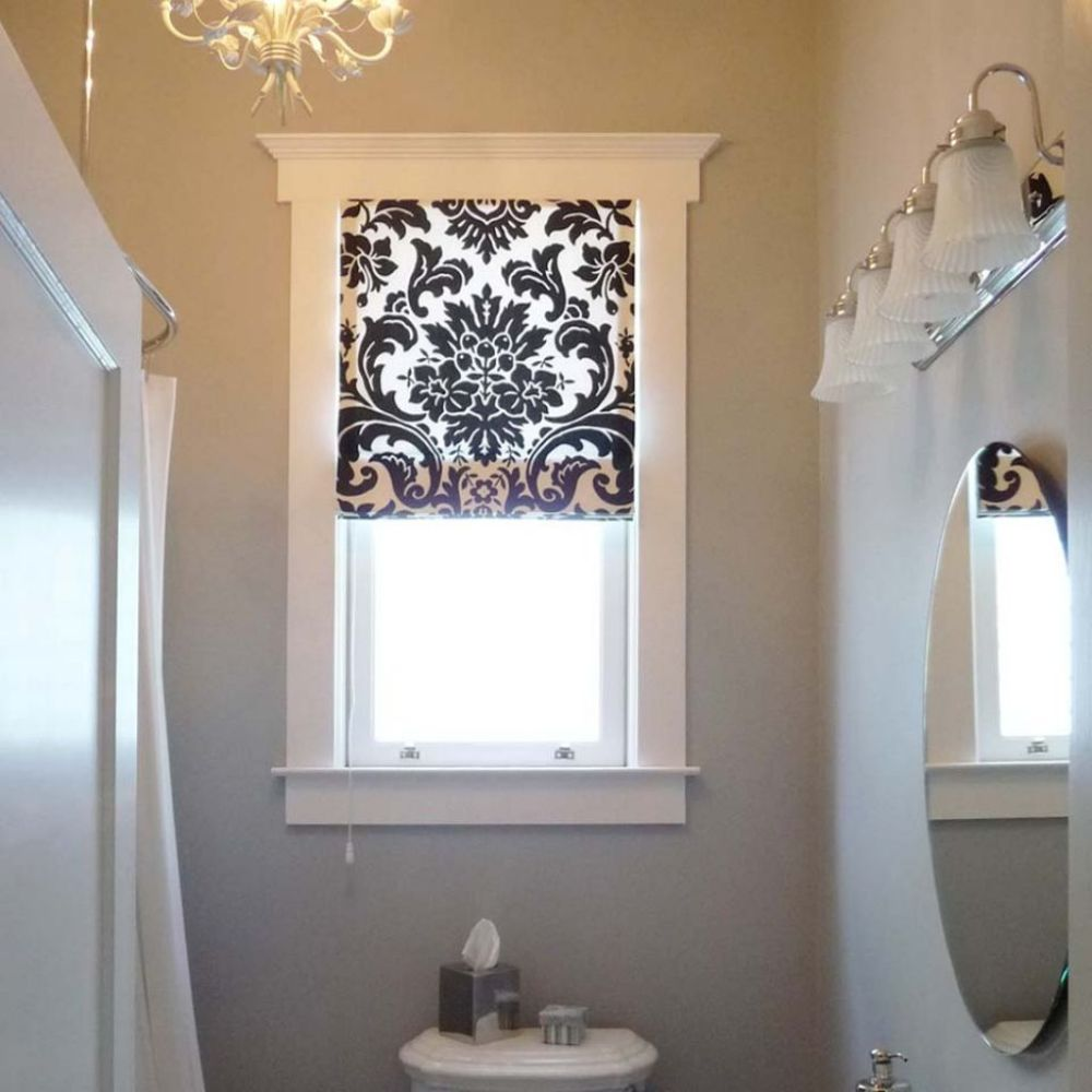 Bathroom Window Shade Ideas